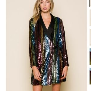 Charlize blazer dress- sold out everywhere!